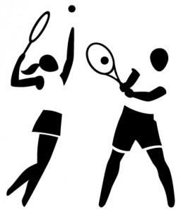 clipart tennis