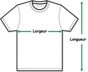 mesures t-shirt f-c