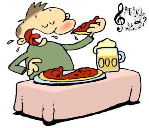 food-music